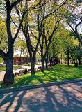 Gorky park in Moscow Royalty Free Stock Photography