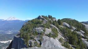 Treetop βουνό Στοκ εικόνα με δικαίωμα ελεύθερης χρήσης