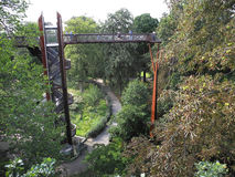 Treetop διάβαση πεζών στους κήπους Kew Στοκ φωτογραφία με δικαίωμα ελεύθερης χρήσης