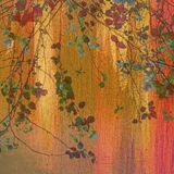 Treetop painting Royalty Free Stock Photography