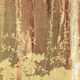 Treetop painting Royalty Free Stock Image