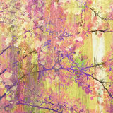 Treetop Painting Stock Image