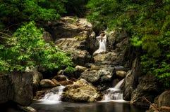 Trefaldig vattenfall Arkivfoton