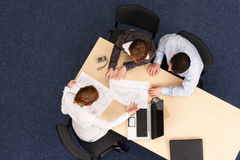 Treffen des Immobilienmaklers Lizenzfreies Stockfoto