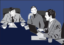Treffen - neue Ideen Stockfotos