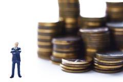 Treffen Sie den Banker Lizenzfreie Stockfotos
