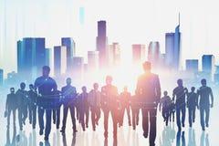 Treffen und Finanzkonzept stockfotos