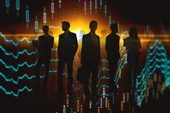 Treffen und Geschäftskonzept stockfoto
