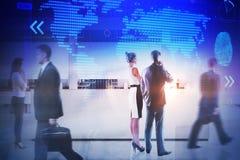 Treffen und Unternehmenskonzept stockbilder