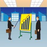 Treffen von zwei Geschäftsmännern Lizenzfreies Stockbild