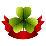Trefoil clover Stock Photos