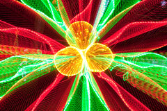 Trefoil light burst Royalty Free Stock Image