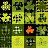 Trefoil pattern Stock Images
