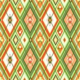 Trefoil seamless Stock Image