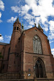 Trefoldighetskirken (de Heilige Kerk van de Drievuldigheid), Oslo royalty-vrije stock foto's