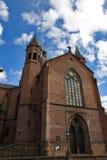 Trefoldighetskirken (igreja santamente) da trindade, Oslo Fotos de Stock Royalty Free