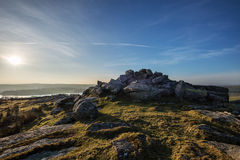 Tregarrick tor  Bodmin moor Cornwall UK Stock Images