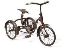 trehjuling Arkivfoton