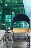trehjuling royaltyfria bilder