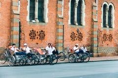 Trehjuling vietnam Arkivbild