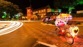 Trehjulingmelaka fotografering för bildbyråer