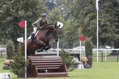 Trehudreth Jumping Fence #11 Royalty Free Stock Image