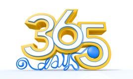 Trehundra och sextiofem dagar Arkivfoton