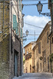 Treia (πορείες, Ιταλία) Στοκ φωτογραφία με δικαίωμα ελεύθερης χρήσης