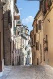 Treia (3月,意大利) 免版税库存照片