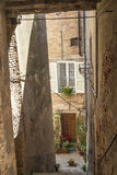 Treia (3月,意大利) 库存照片