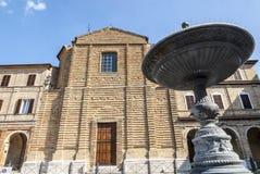Treia (Marches, Italy) Stock Photo