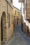 Treia (marços, Italia) Fotografia de Stock