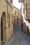 Treia (mars, Italie) Photographie stock