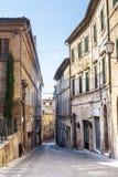 Treia (Marsen, Italië) Stock Afbeelding