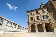 Treia (Marsen, Italië) Royalty-vrije Stock Afbeeldingen
