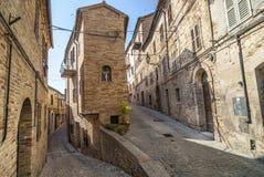 Treia (Marsen, Italië) Royalty-vrije Stock Foto