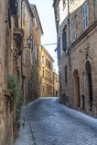 Treia (Marsen, Italië) Stock Afbeeldingen