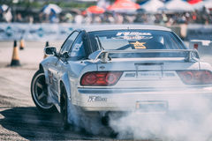 Treibende Nissans 180SX Stockfotos