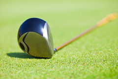 Treiber-Golfclub Stockfotos