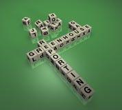 Treibhausgas-Berichts-Puzzlespiel 1 Stockfoto