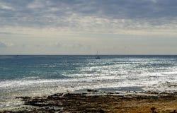 Treibnetz für Thunfischfischen stockfotografie