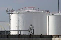 Treibstofflager Lizenzfreie Stockfotografie
