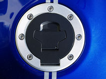 Treibstoffschutzkappe stockfotos