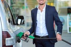 TreibstoffTankstelle Lizenzfreies Stockfoto