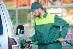 TreibstoffTankstelle Stockbilder