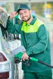 TreibstoffTankstelle Stockfotografie