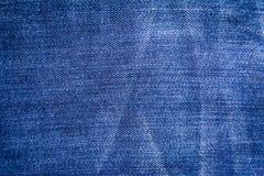 Treillis classique de ton de nature de fond de blue-jean Photos stock