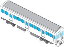 Trein stock illustratie