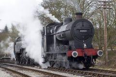 Trein 2 van de stoom Royalty-vrije Stock Foto's