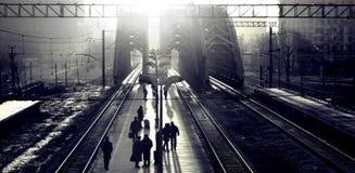 Trein? Royalty-vrije Stock Afbeeldingen
